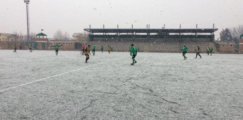 Calcio – La neve blocca i campionati dilettantistici, sospese tutte le gare
