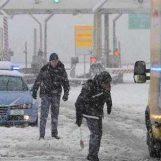 Nuova bufera di neve in Irpinia, chiusa l'A16