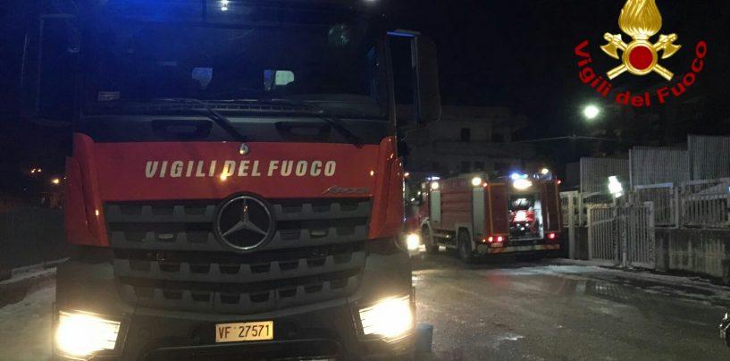 Incendio in un'abitazione di Bellizzi, cane intossicato dal fumo
