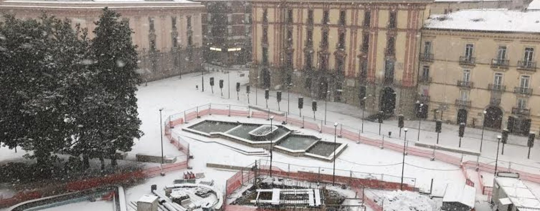 Emergenza neve – Approvato lo stato di calamità in Campania