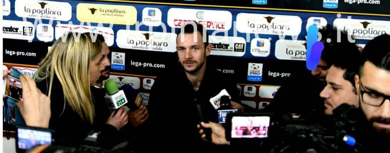 """L'Avellino scivola ma D'Angelo rassicura: """"Tutto sotto controllo"""""""
