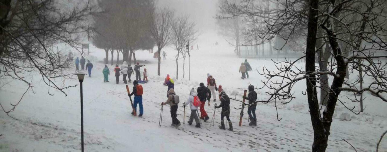FOTO/ Ritorna la neve in Irpinia, ecco la situazione viabilità in Autostrada e comune per comune