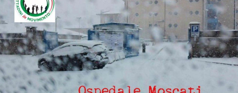 Emergenza neve, Moscati bloccato: la denuncia sul web