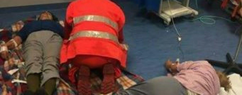 Ospedale di Nola, pazienti soccorsi sul pavimento