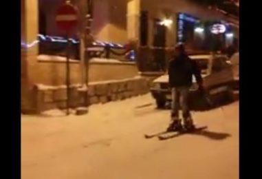 VIDEO/ Caposele, nuova specialità: sci di fondo tra i passanti