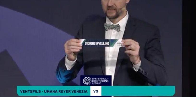 Champions League: possibile derby italiano per la Sidigas Avellino agli ottavi