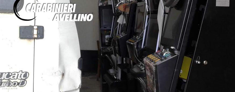 Morra De Sanctis, furto in sala giochi: Carabinieri recuperano intera refurtiva