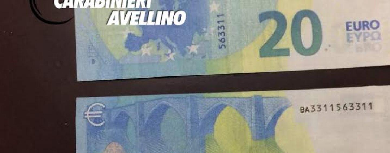 Montefalcione, spaccio di banconote false: denunciato pregiudicato