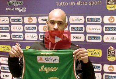 """VIDEO/ Sidigas, ecco Logan: """"Qui per divertire la piazza, spero di ripetere le stagioni di Sassari"""""""
