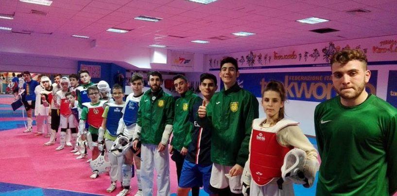 Asd Taekwondo Avellino, gli atleti di Iuliano ancora sul podio