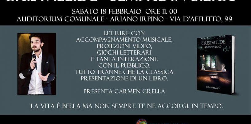 Ad Ariano Irpino, la presentazione del nuovo romanzo di Paolo Barrasso