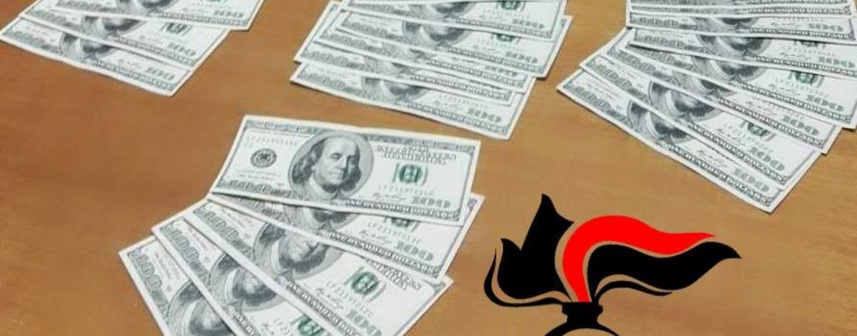 Pratola Serra, in banca con 3.500 dollari falsi: 30enne denunciato