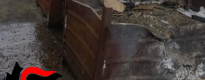 Nusco, smaltimento illecito di rifiuti mediante combustione: due denunce