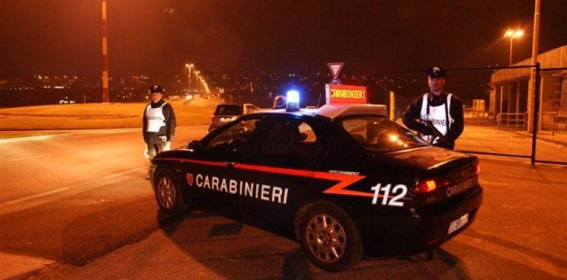 Benevento, controlli dei Carabinieri: un arresto e undici denunce