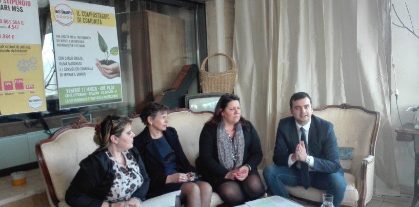 Rifiuti, Sibilia (M5S) scrive ai 118 sindaci irpini sul progetto del compostaggio di comunità