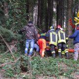 Schiacciato dal tronco di un albero sul Laceno: grave un uomo