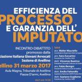 """AIGA Avellino promuove convegno """"Efficienza del processo è garanzia dell'imputato"""""""