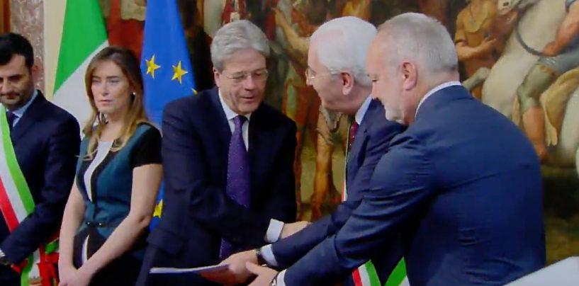 Paolo Gentiloni ad Avellino: troppo tardi o troppo poco?