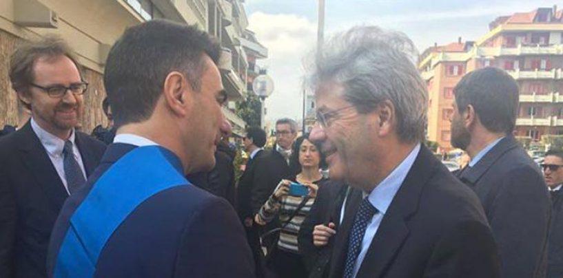 Gentiloni in Irpinia, Gambacorta incontra il premier