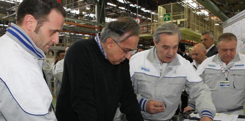 """Marchionne, Scarpa (Fiom): """"Urge confronto per futuro produzioni in Italia"""""""