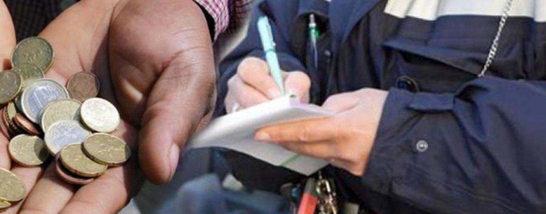 Avellino, primo ordine di allontanamento per accattonaggio molesto: è un giovane nigeriano