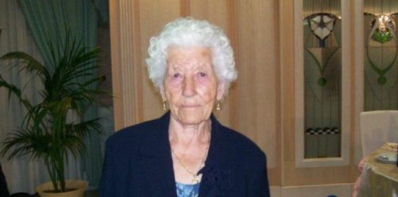Un viaggio lungo un secolo, Casalbore piange Nonna Rosina: aveva 101 anni