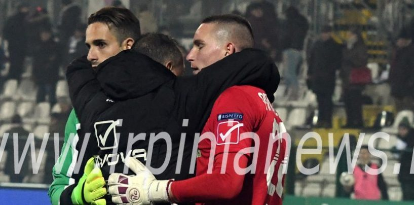Avellino Calcio – Cambio tra i pali: Radunovic salta la Ternana