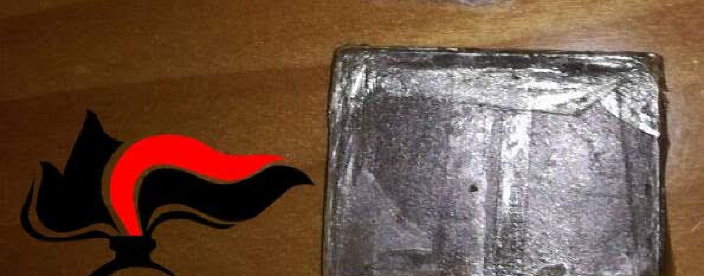 Grottaminarda, lotta alla droga: arrestato 20enne in possesso di mezzo etto di hashish
