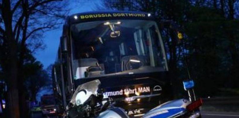 Esplosioni davanti al bus del Borussia Dortmund: ferito Bartra