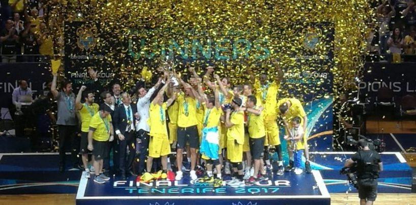 Basket, ecco la Champions che verrà. Avellino prenota un posto