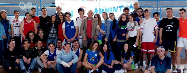 """Il """"De Sanctis"""" alla Finale Provinciale dei Campionati Studenteschi di Badminton di II° Grado"""