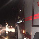Auto a fuoco sull'Ofantina, paura per una coppia di Bagnoli Irpino