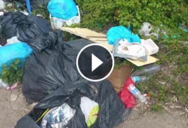 """VIDEO/ Ci vuole Costanza! Il """"nostro"""" Beppe Grillo e i rifiuti abbandonati"""