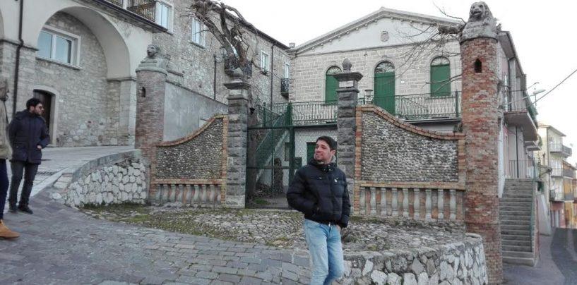 """FOTO/ """"Rotolando verso Sud"""": prima tappa a Trevico e Castel Baronia"""