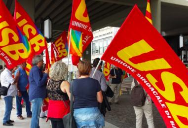 L'Usb irpino a Napoli in difesa dei lavoratori della Sanità. A giugno sciopero generale