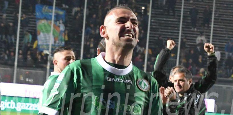 Avellino Calcio – Ruggito da leader: Castaldo adesso vede la storia