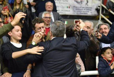"""Sidigas, la gioia di Sacripanti: """"Per noi e per Avellino è un premio pazzesco"""""""