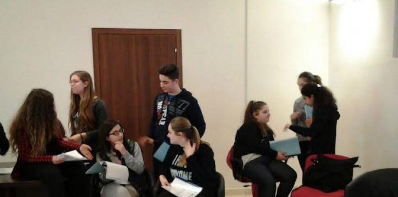 Telecamere di Rai 3 a Lapio per un progetto di giovanissimi studenti