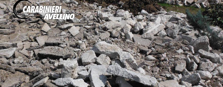 Luogosano, abusi edilizi e gestione illecita di rifiuti: due denunce