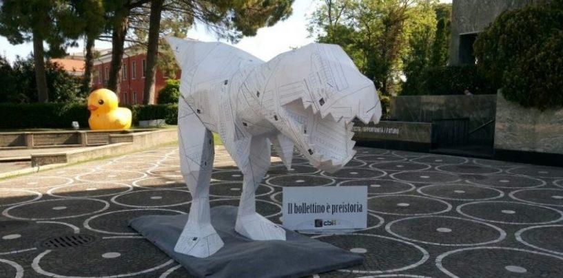 """Consorzio Cbi: la campagna """"Il bollettino è preistoria"""" fa tappa a Paestum"""