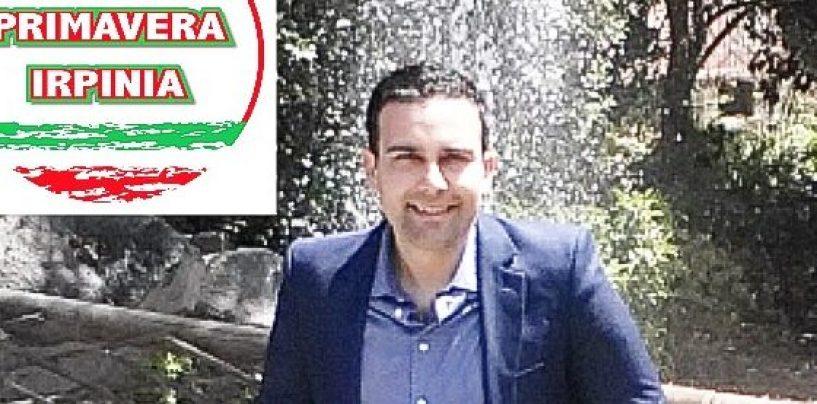 Primavera Irpinia, gli auguri di Luciano Natalino per la candidatura di Sabino Morano