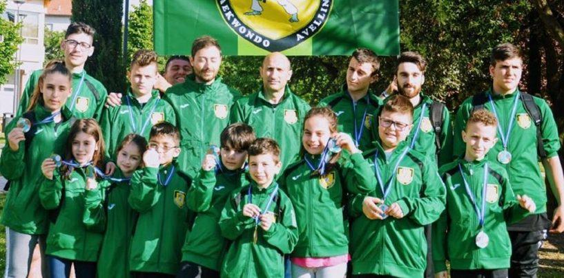 Asd Taekwondo Avellino, 13 medaglie a Riccione per i lupi di Iuliano