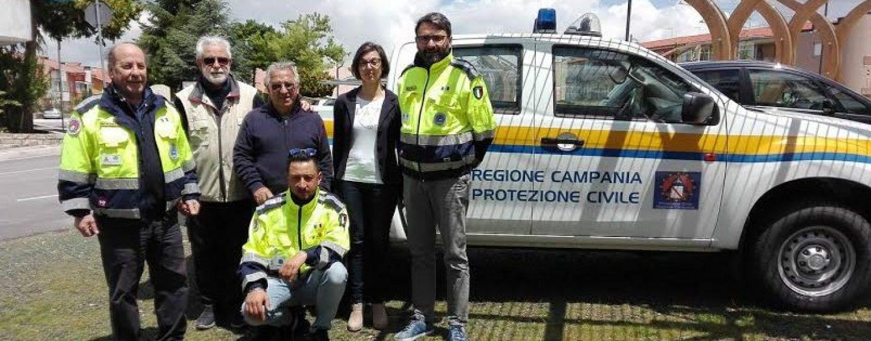 Protezione Civile, i volontari di Bisaccia ricevono fuoristrada dal Comune