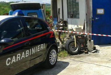 Conza, gestiva un'officina abusiva: denunciato dai carabinieri