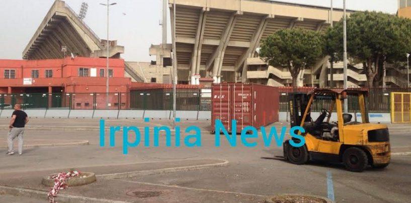 Avellino Calcio – I container blindano l'esodo biancoverde a Salerno