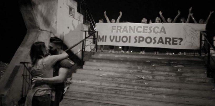 Avellino Calcio – Mi vuoi sposare? L'amore sui gradoni della Curva Sud