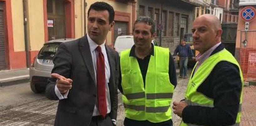 Asfaltata la strada groviera di Bellizzi, intervento della Provincia per 100mila euro