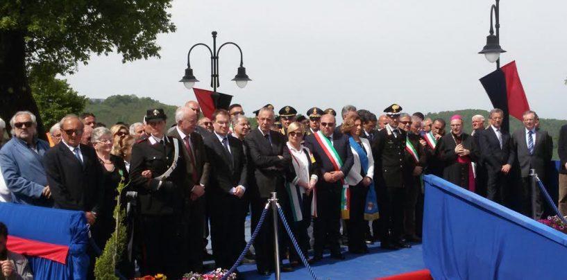 """FOTO/ Nuova Caserma dei Carabinieri a Montefusco, il generale Cinque: """"Presidio importante"""""""