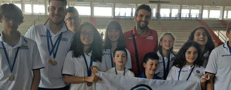 Alla Finale Regionale Grand Prix di nuoto C.S.I. 11 atleti della New Sporting In