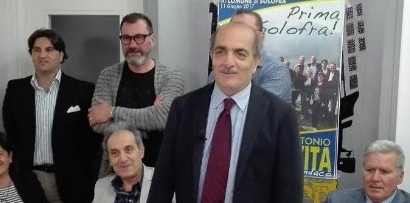 Amministrative Solofra: presentata la lista di Carmine Antonio De Vita